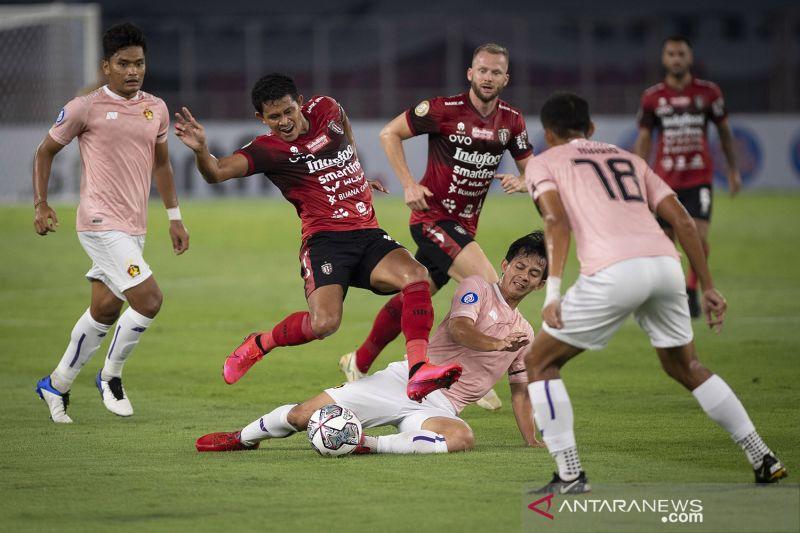 Bali United sukses bekuk Barito Putera 2-1