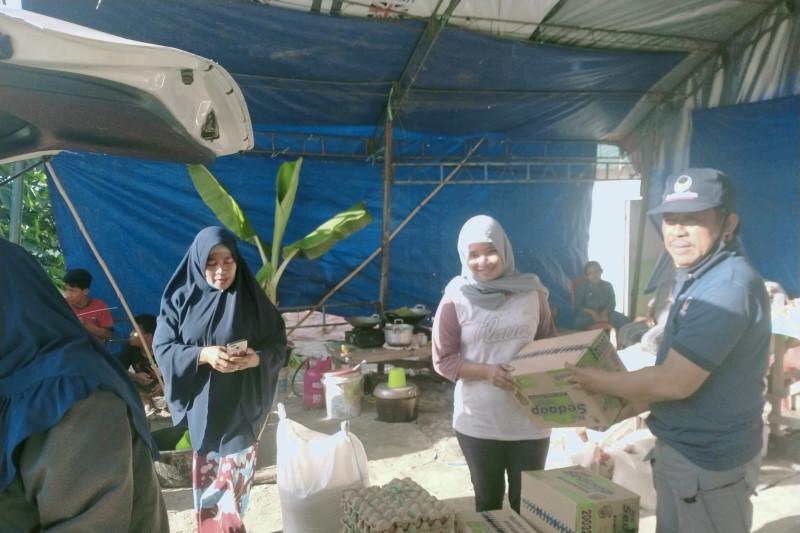 NasDem Sulteng bantu kebutuhan pangan warga terdampak banjir Sigi