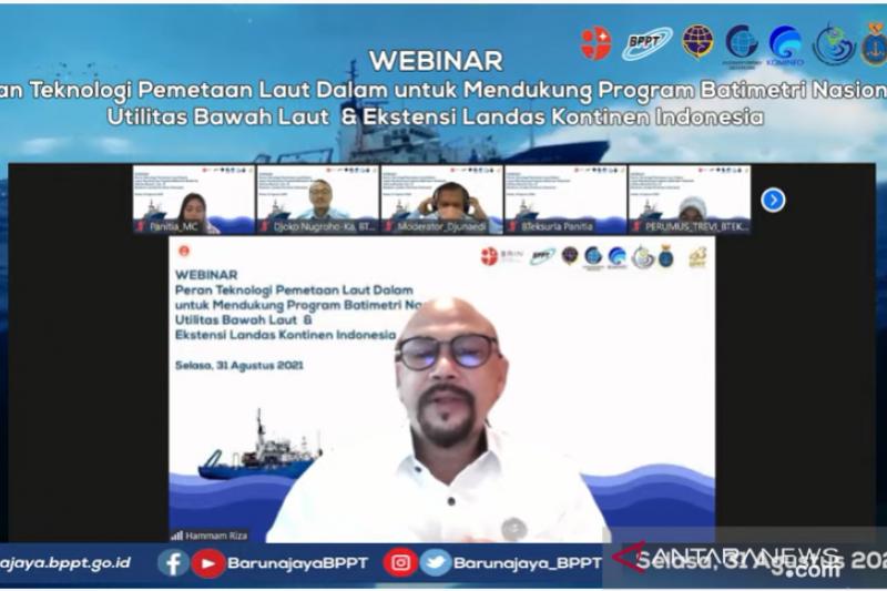 BPPT: Penguatan data batimetri dukung kepentingan perhubungan laut