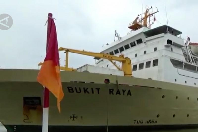Kapal milik PT Pelni dijadikan tempat isoter Kota Medan