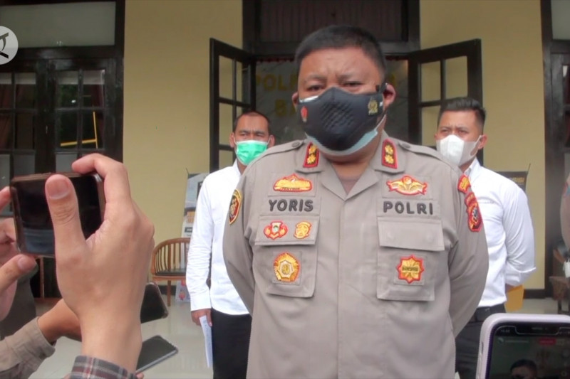 Polisi amankan 13 orang terkait dugaan pungli Pasar Caringin