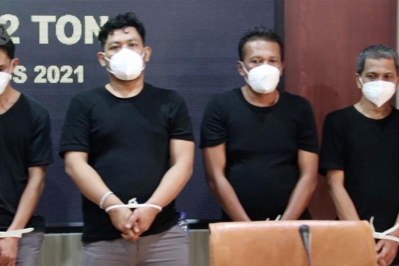 Kejati Aceh terima tujuh tersangka kasus sabu 1,2 ton di Aceh Barat