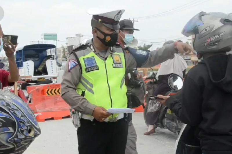 Riau kembali lakukan penyekatan di perbatasan provinsi