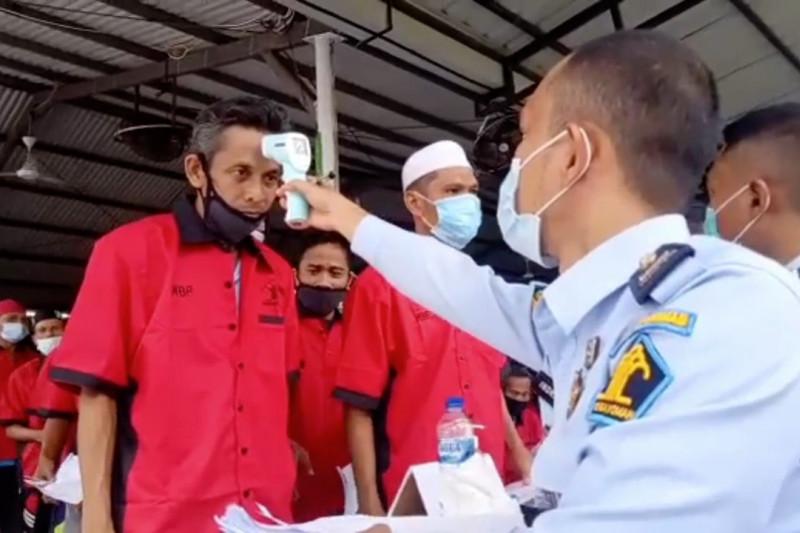 Dua ribu warga binaan di Medan jalani vaksinasi