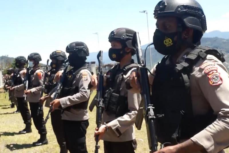 Enam kompi Brimob diterjunkan ke Papua amankan PON XX
