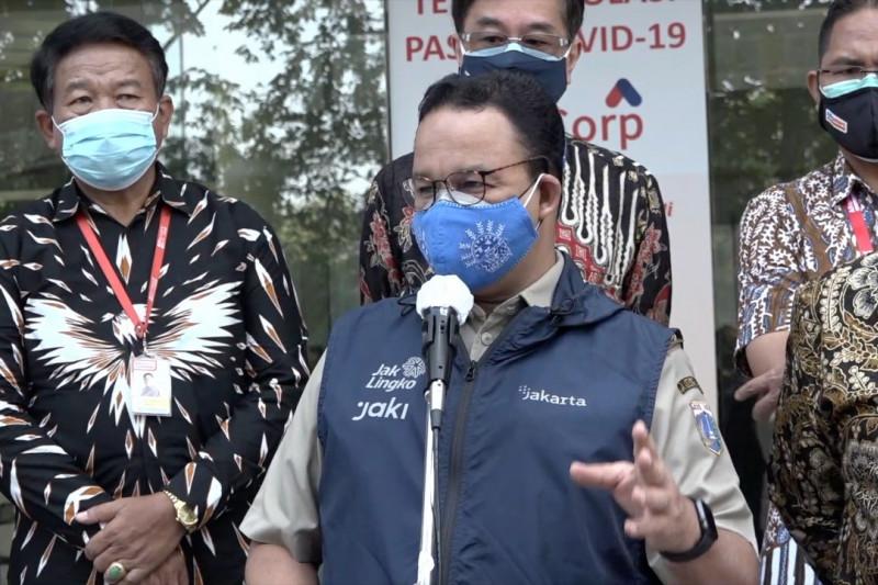 PPKM efektif di Jakarta, Anies minta warga tetap disiplin