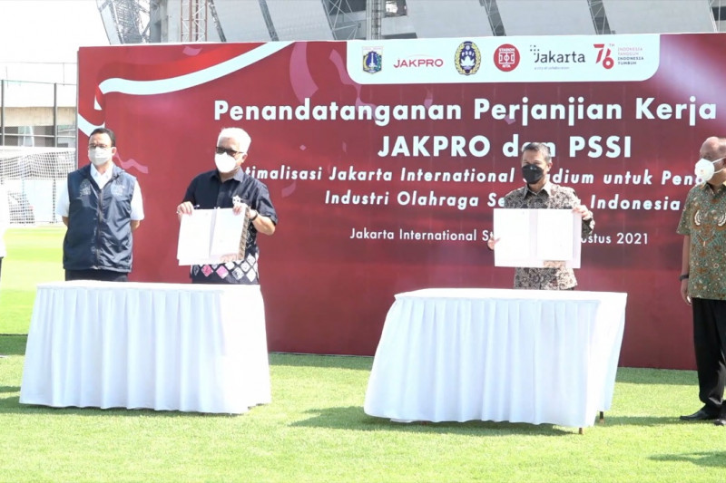 Jakpro dan PSSI kerja sama optimalkan Jakarta International Stadium