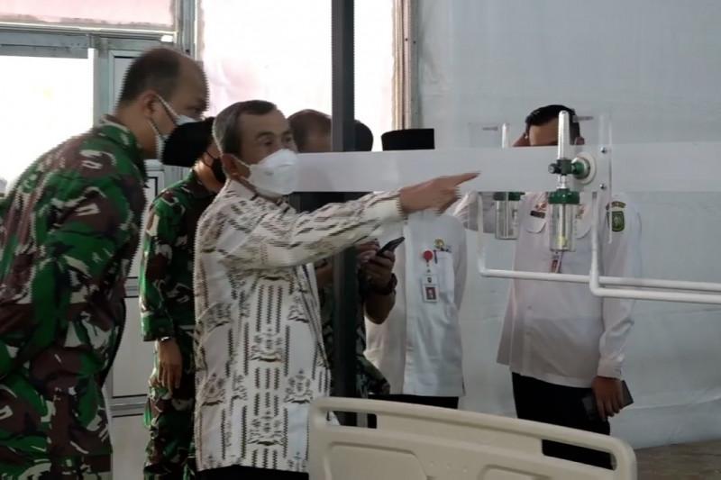 Riau siap operasikan Rumah Oksigen di Lanud RSN