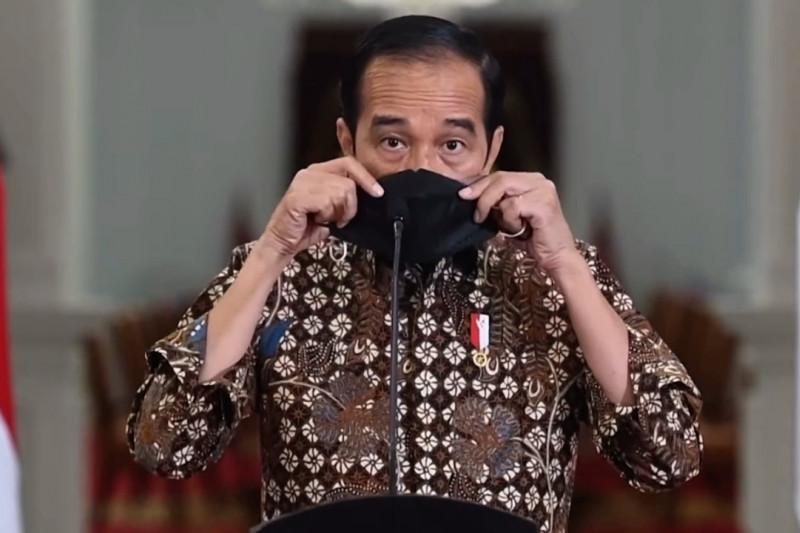 Presiden tegaskan jangan lengah meski level PPKM diturunkan