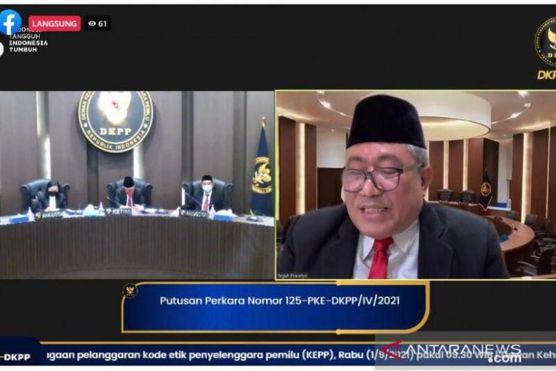 DKPP beri sanksi peringatan pada 9 penyelenggara pemilu