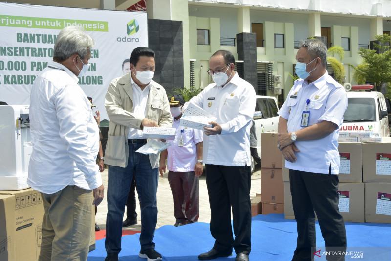 Adaro sebar 65 konsentrator oksigen di Tabalong dan Balangan Kalsel