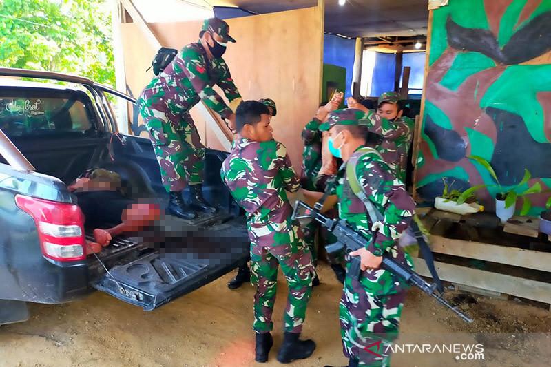 Empat Anggota TNI AD meninggal diserang OTK di Maybrat Papua Barat
