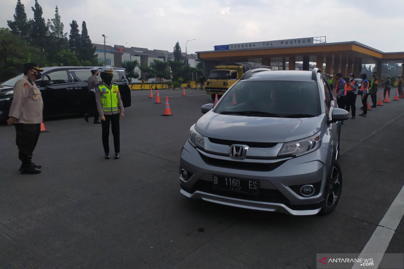 467 personel gabungan disiagakan untuk ganjil-genap di Kota Bandung