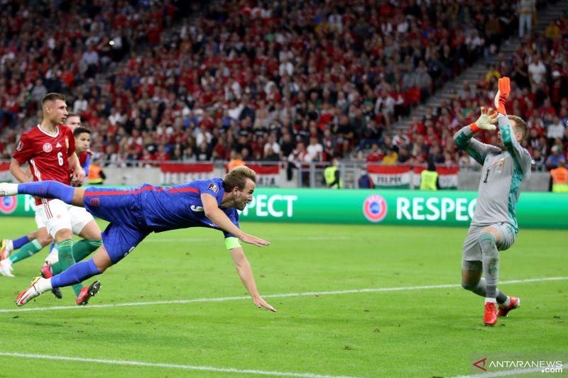 Timnas Inggris gasak Hungaria empat gol tanpa balas
