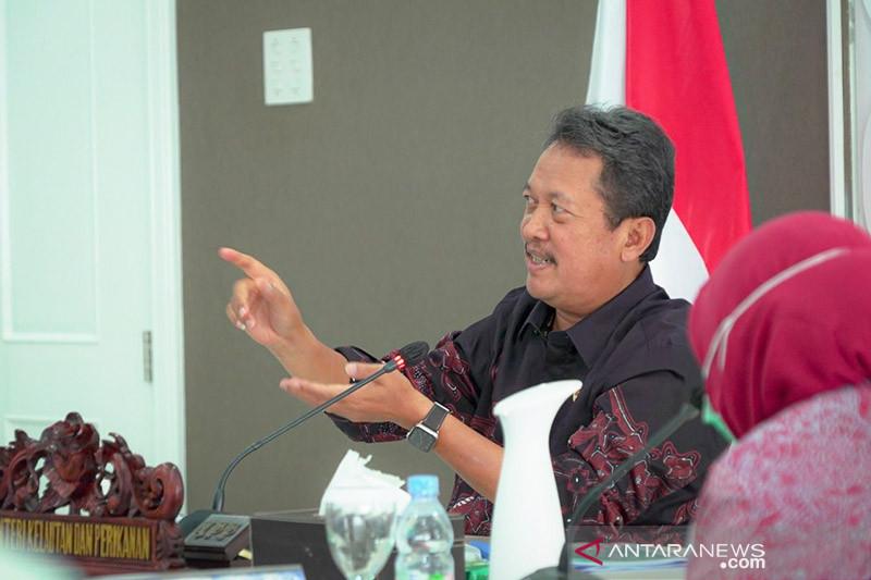 Menteri Trenggono dorong milenial terjun di bisnis logistik perikanan