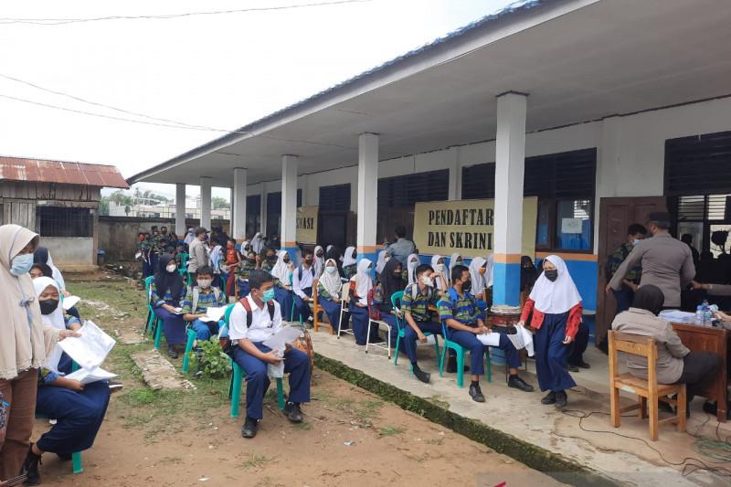 Polda Jambi siapkan 2.000 dosis vaksin untuk pelajar dan pengajar