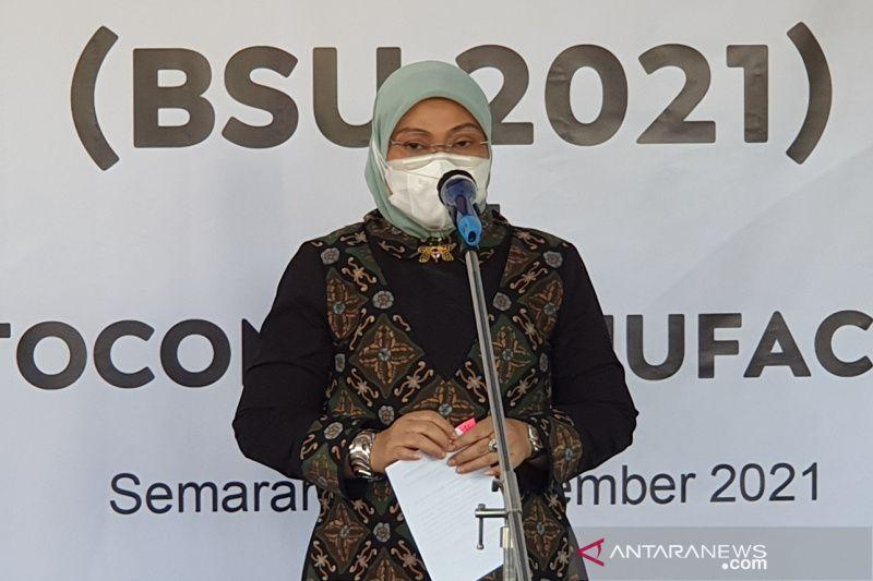 Menaker targetkan penyaluran BSU selesai Oktober 2021