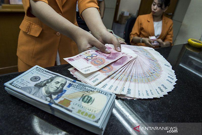 Yuan menguat lagi, menjadi 6,4577 terhadap dolar AS