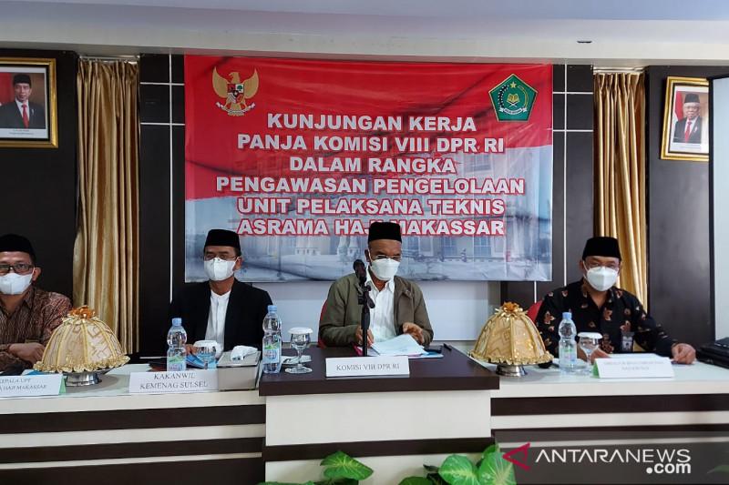 DPR dukung pembangunan Wisma Marwah Asrama Haji Makassar