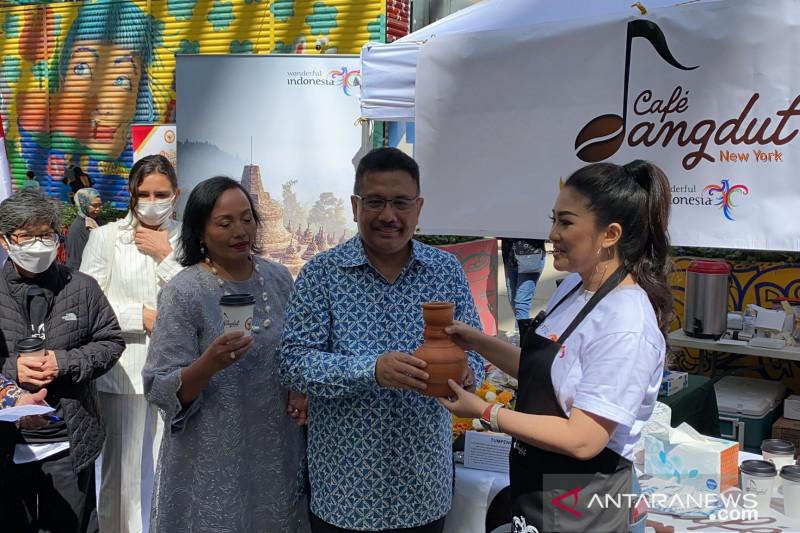 Diaspora Indonesia luncurkan 'Cafe Dangdut' di kota New York