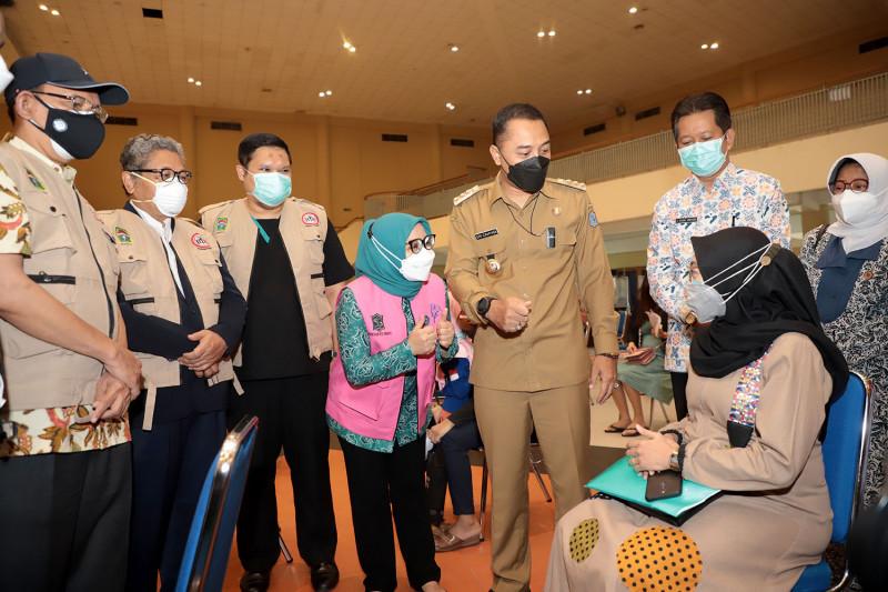 Kondisi COVID-19 di Kota Surabaya turun ke level 2