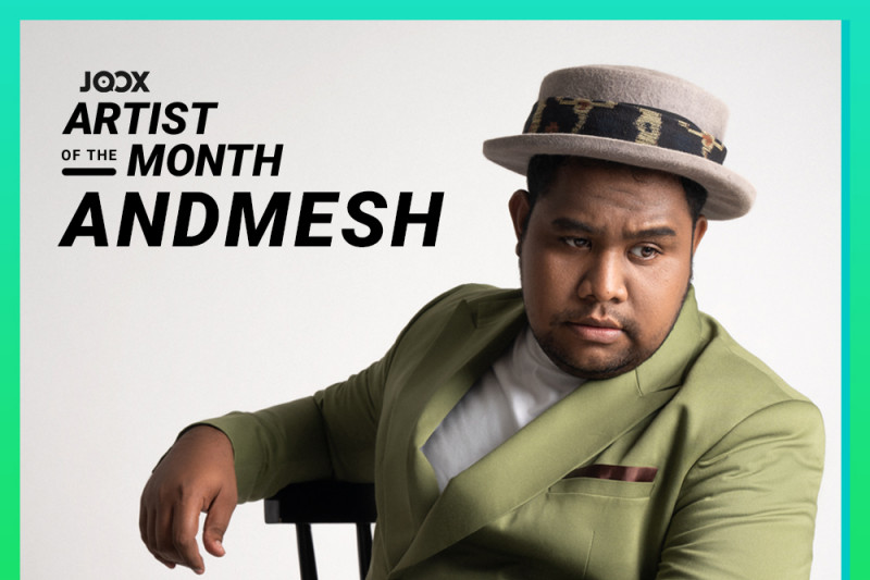 Andmesh JOOX Artist of the Month September