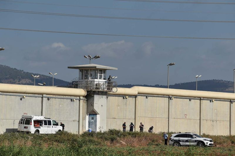Israel tangkap dua terakhir milisi Palestina yang kabur dari penjara