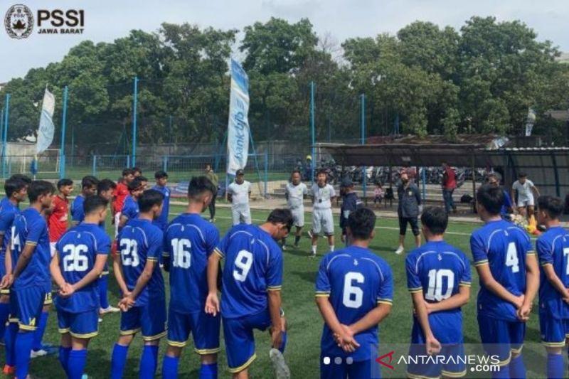 Tim Sepakbola Jabar percaya diri seusai lirik hasil sejumlah uji coba