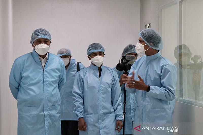 Luhut: Pabrik vaksin RI di Pulogadung