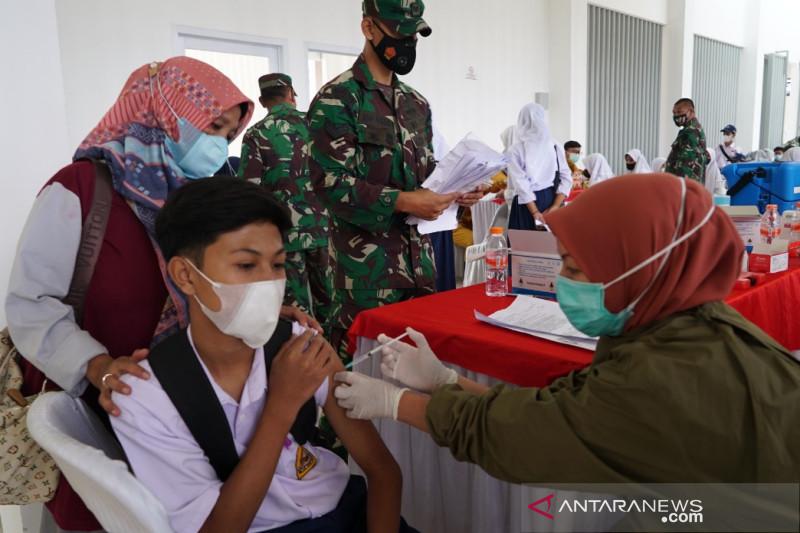 2.000 pelajar di Garut disasar vaksinasi COVID-19 Kodam III/Siliwangi
