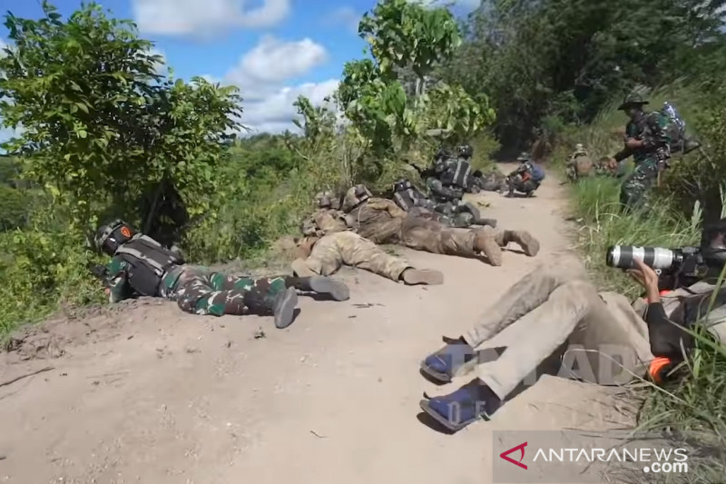 Garuda Shield juga jadi ajang kerja sama kehumasan TNI AD-AD AS