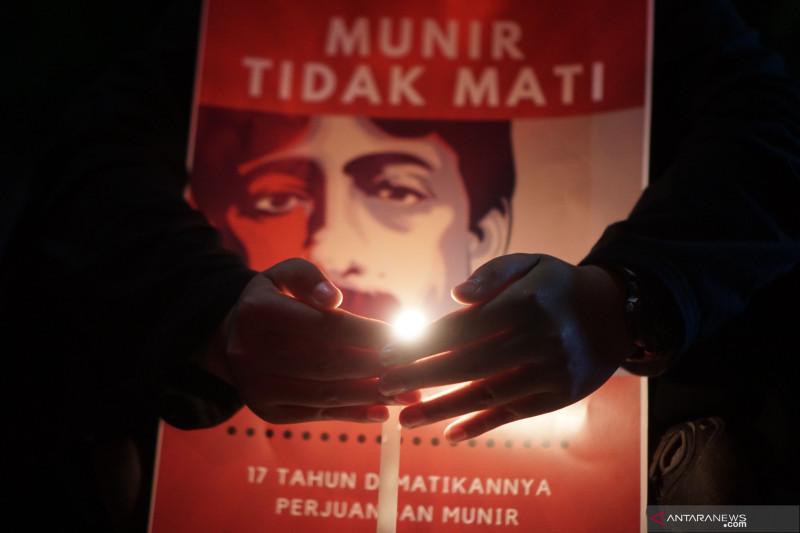 Aksi refleksi 17 tahun Munir