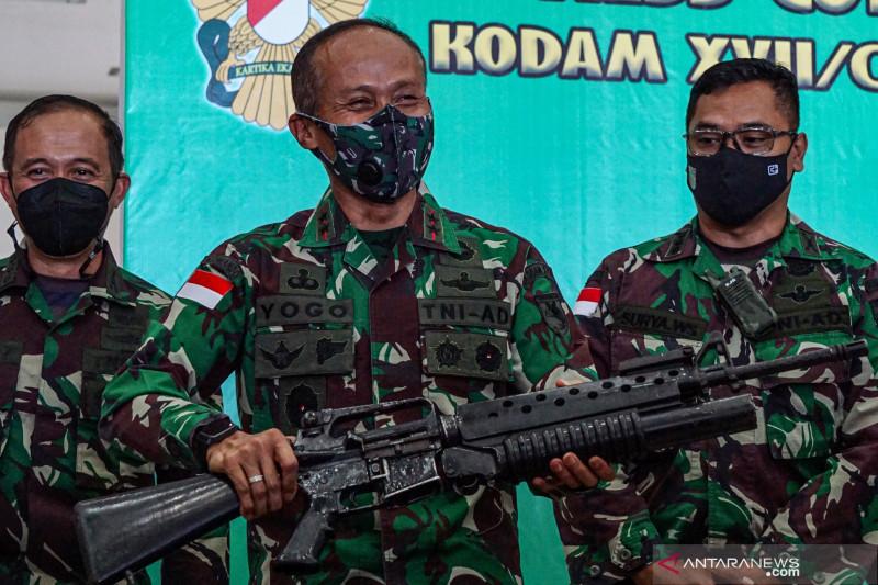 Penangkapan anggota kelompok separatis teroris Papua