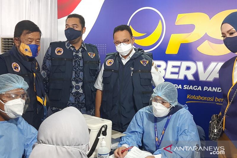 Anies berharap vaksinasi 2,7 juta warga DKI segera tuntas