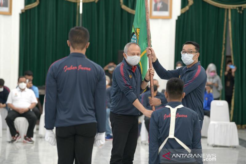 Ridwan Kamil kukuhkan kontingen Jabar untuk PON Papua