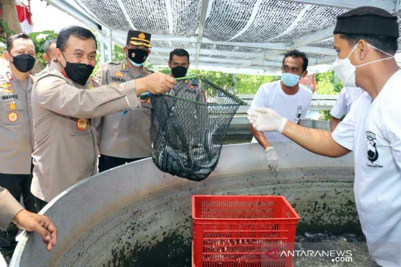 Polda Jateng tindak tegas perusahaan mencemari Sungai Bengawan Solo