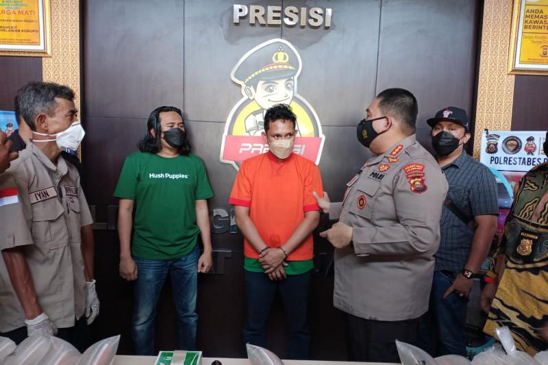Polisi gagalkan penyelundupan 91.456 benih lobster asal Lampung