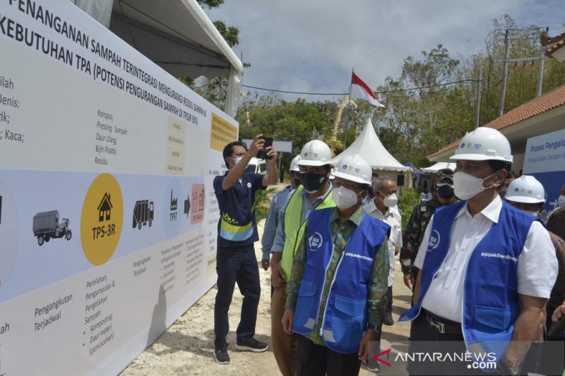 Menko Marves resmikan TPST terbesar di Bali
