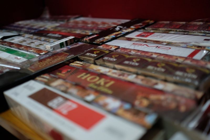 Bea Cukai Kudus ungkap penjualan rokok ilegal lewat e-commerce