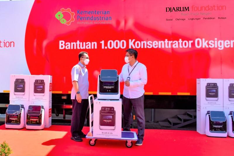 Kemenperin apresiasi industri bantu 1.000 konsentrator oksigen