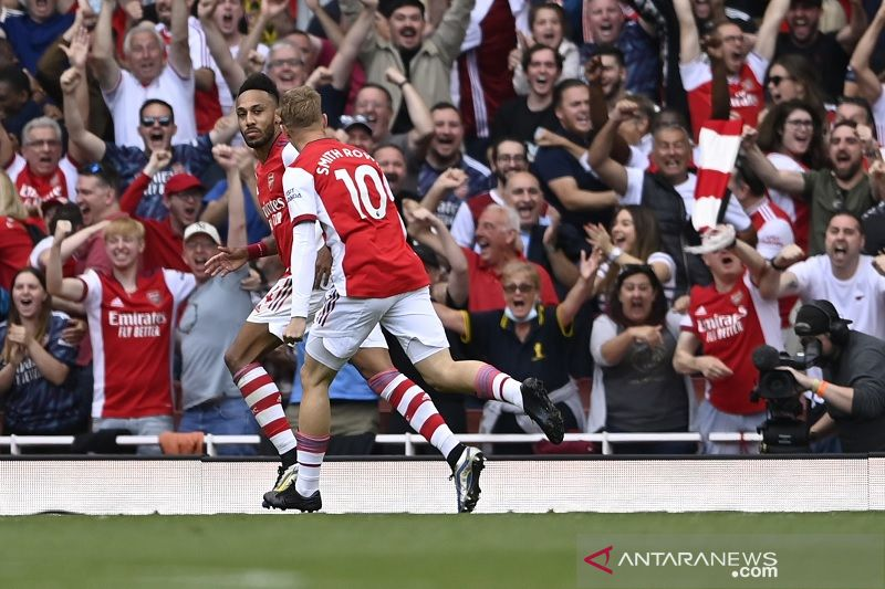 Arsenal akhirnya petik kemenangan perdana musim ini