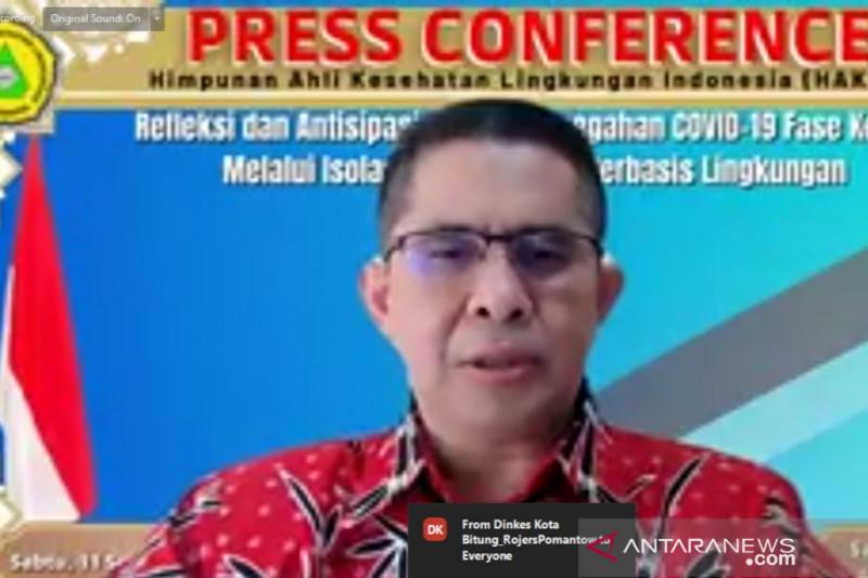 HAKLI: 90 persen isoman di Jawa-Bali dapatkan layanan konsultasi