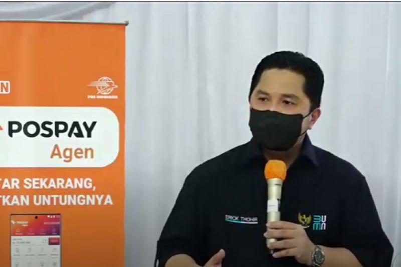 Erick: Transformasi Pos Indonesia perlu diiringi transformasi SDM