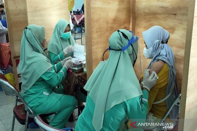 5.000 warga Boyolali-Jateng ikuti serbuan vaksinasi BAIS TNI