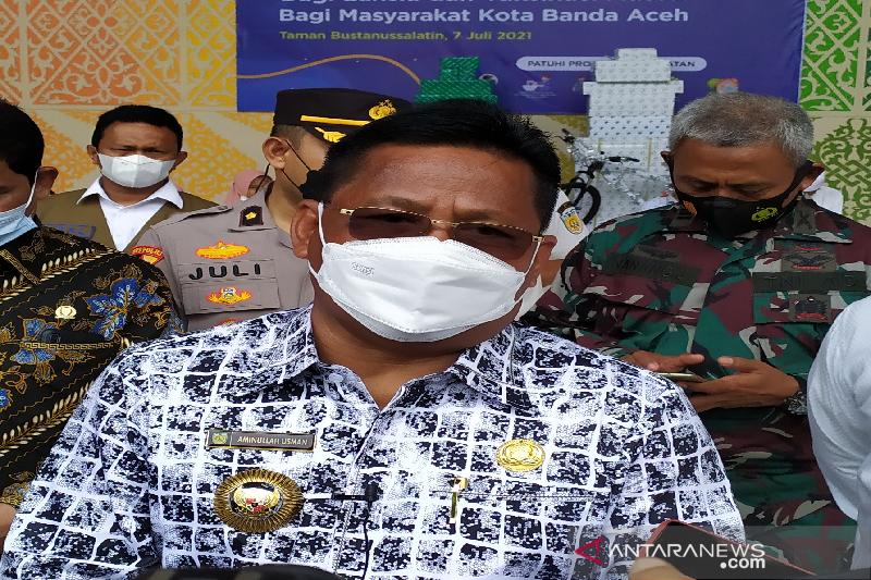 Sembuh dari COVID-19, Wali Kota Banda Aceh kembali beraktivitas