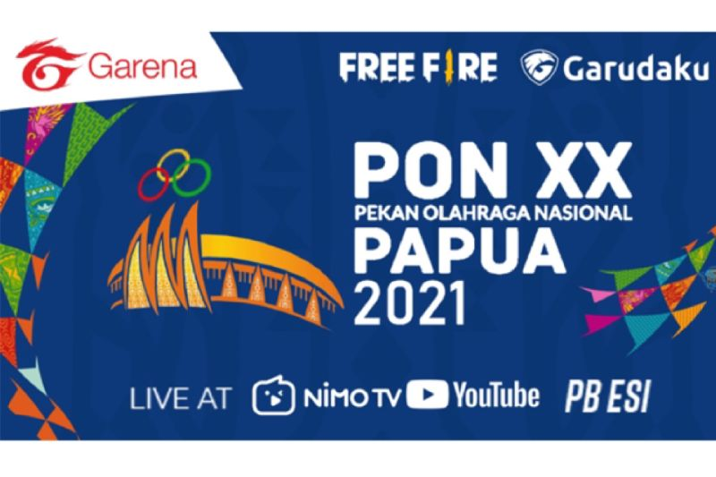 Sebelas tim Free Fire terbang ke Jayapura untuk final esport PON Papua