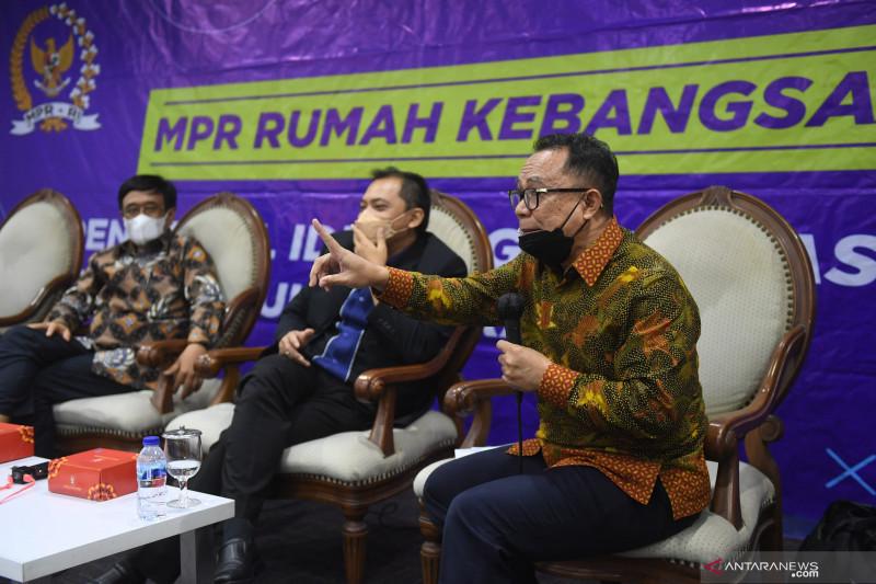 Djarot: MPR tidak pernah mengkaji perpanjangan masa jabatan Presiden