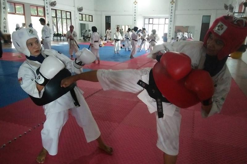 Aceh andalkan dua atlet putri raih medali emas kempo PON Papua