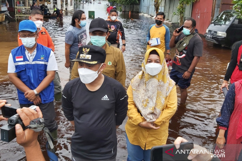 Pemerintah Palangka Raya buka layanan donasi bagi korban banjir