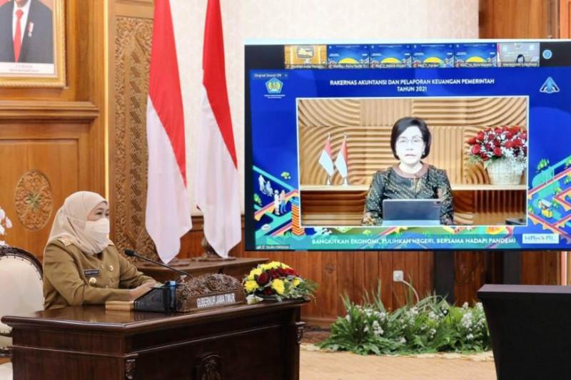 Gubernur Jatim: Apresiasi WTP harus tingkatkan akuntabilitas keuangan